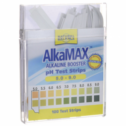 AlkaMax pH Test Strips, 100 Ct