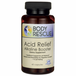 Acid Relief Alkaline Booster, 60 Caps
