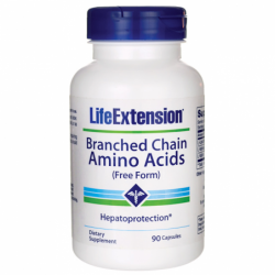 Branched Chain Amino Acids Free Form, 600 mg 90 Caps