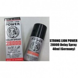 Strong Lion Power 28000  delay Spray For Men