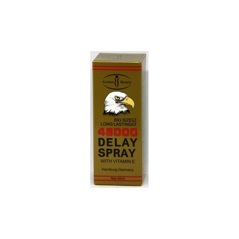Pure Passion Deadly Shark Double Power 48000 Delay Spray For Men by Shark
