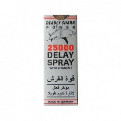 Deadly Shark Power 25000 Delay Spray For Men by Shark