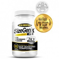 SizeGenix Size Boosting Compound, 60 Capsules