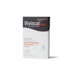 Viviscal Man Hair Growth Program, 60 Capsules