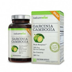Garcinia Cambogia Extract, 180 Veg Caps by NatureWise