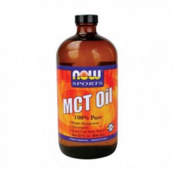 MCT OIL, 32 FL OZ LIQUID BY NOW FOODS