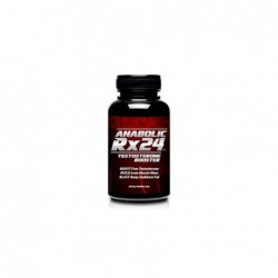 Anabolic Rx24 Testosterone Booster, 742mg per capsule by biotrimlabs