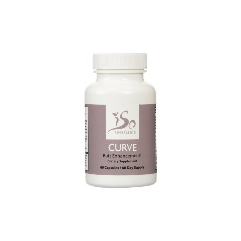 IsoSensuals CURVE Butt Enhancement Pills, 60 capsules by IsoSensuals