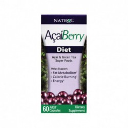 AcaiBerry Diet, 60 Caps by Natrol