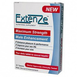 Extenze Maximum Strength Male Enhancement, 30 Tablets By ExtenZe