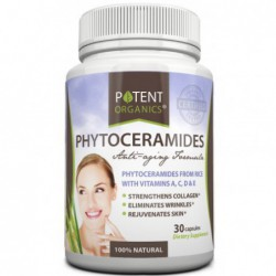 PHYTOCERAMIDES Supplement, 30 capsules by potent organics
