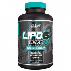 LIPO-6 BLACK HERS, 120 Capsules by nutrex