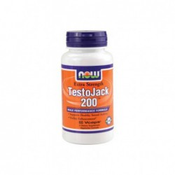 TestoJack 200, 60 Vcaps by NOW Foods