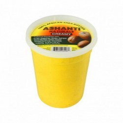 100  African Shea Butter Yellow - Creamy, 15 oz