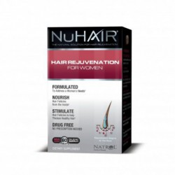 Hair Regrowth for Women, 60 tablets by nu hair
