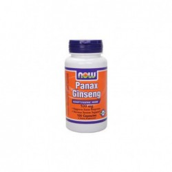 Panax Ginseng, 520 mg 100 Caps by NOW Foods