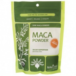 Raw Maca POWDER, 8 oz Pwdr by Navitas Naturals