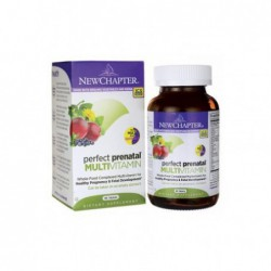 Perfect Prenatal Multivitamin, 96 Tabs by New Chapter