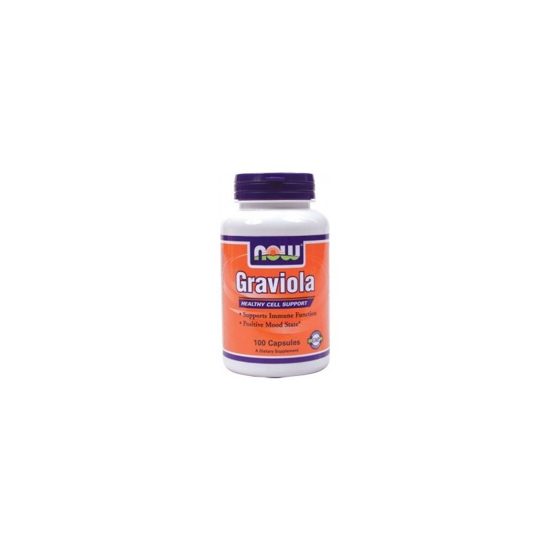 Graviola, 500 mg 100 Caps by NOW Foods