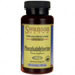 Phosphatidylserine, 100 mg 90 Softgels by Swanson Ultra
