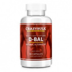 D-BAL, 90 capsules by CRAZYBULK