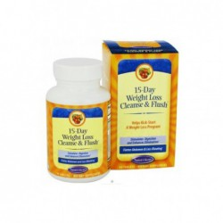 15-Day Weight Loss Cleanse & Flush, 60 Tablets by Nature s Secret