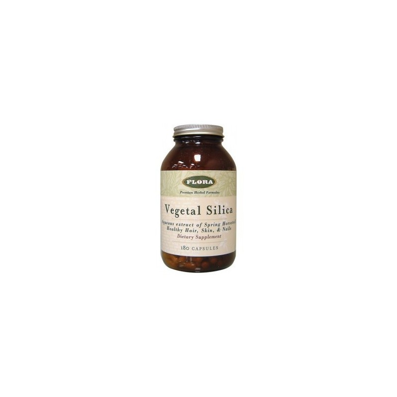 Vegetal Silica, 180 Capsules by Flora