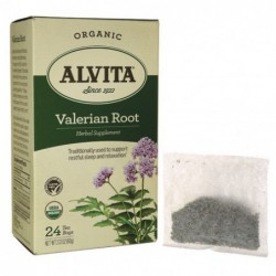 Valerian Root Tea, 24 Bag s  by Alvita Tea