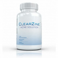 Clearzine Acne Solution, 60 vegetable by vivid health nutrition