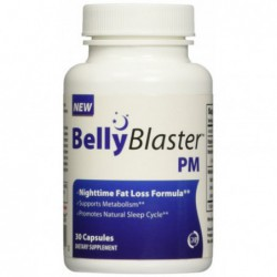 Night Time Weight Loss Pill - Loss Weight While You Sleep - 30 Capsules by Belly Blaster