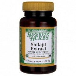 Shilajit Extract, 400 mg 60...