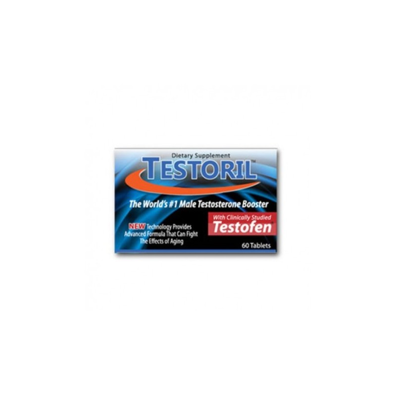 TESTORIL The Strong Powerful & Effective Testosterone Booster 60 Tablets by Premium