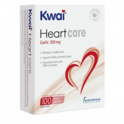 Kwai Heart Care Garlic 300mg  one-a-day  100 tablets by Kwai