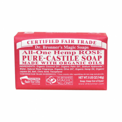 Organic Castile Bar Soap Rose, 5 oz Bar(s)