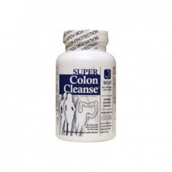 Super Colon Cleanse Night Formula, 90 Capsules by Health Plus