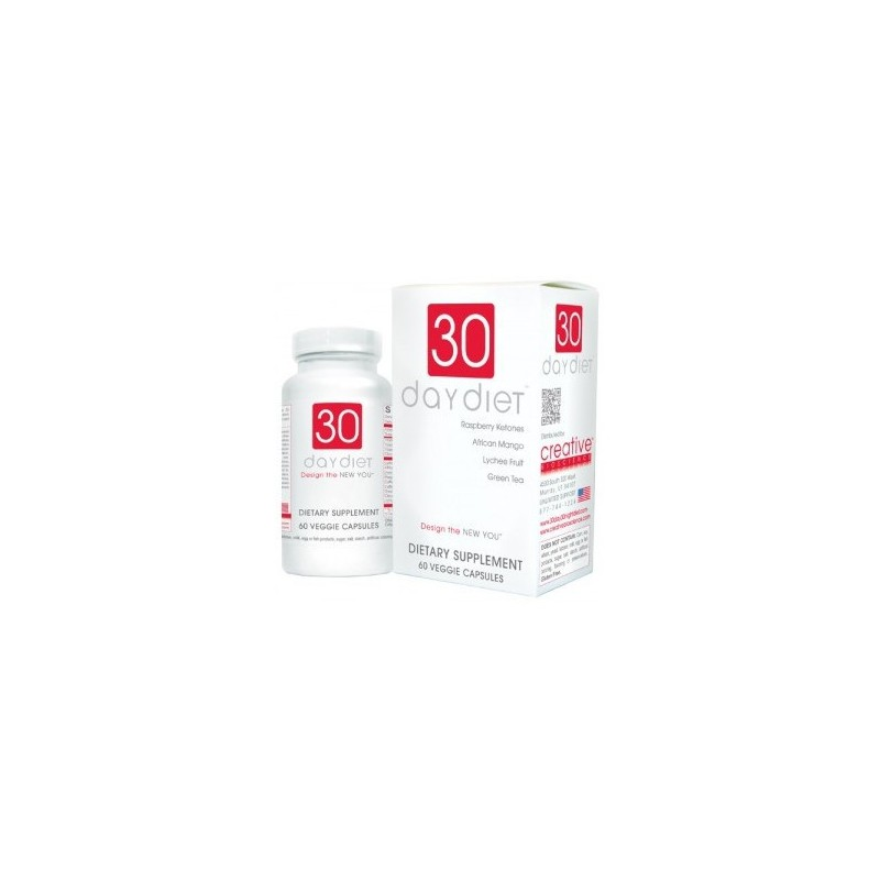 30 Day Diet , 60 Veggie Capsules by Creative Bioscience