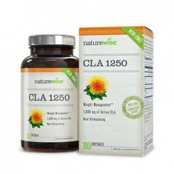 CLA Conjugated Linoleic Acid, 180 count by NatureWise