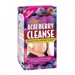 14-Day ACAI BERRY CLEANSE    WEIGHT-LOSS SUPPORT FLUSH by appliednutrition