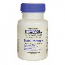 Male Potency, 100 Tabs By Swanson Homeopathy