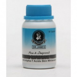 Dr  James Advanced Glutathione Skin Whitening Formula, 60 capsules by Dr  James