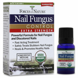 Organic Nail Fungus Control  Extra Strength, 11 mL Liquid