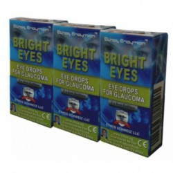 Bright Eyes Drops for Glaucoma, 3 Box  2 x 5ml Bottles  by Ethos