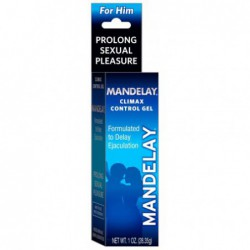 Mandelay Climax Control Gel, 1 Ounce by Majestic Drug