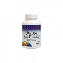 Damiana Male Potential, 90 Tabs by Planetary Herbals