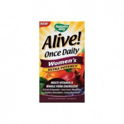 Alive  Once Daily Women s Ultra Potency, 60 Tablets by Nature s Way