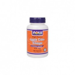 Apple Cider Vinegar, 450 mg 180 Capsules by NOW Foods  Best Before June 2014