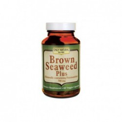Brown Seaweed Plus, 700 mg 60 Veg Caps by Only Natural