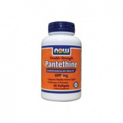 Pantethine, 600 mg 60 Sgels by NOW Foods