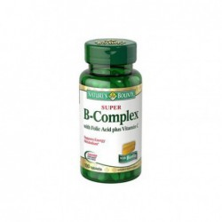 Super B-Complex with Folic Acid Plus Vitamin C, 150 Tablets by Nature s Bounty