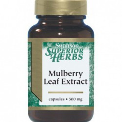Mulberry Leaf Extract 500 mg 60 Caps by Swanson